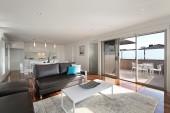Kitchen / TV room / Decking