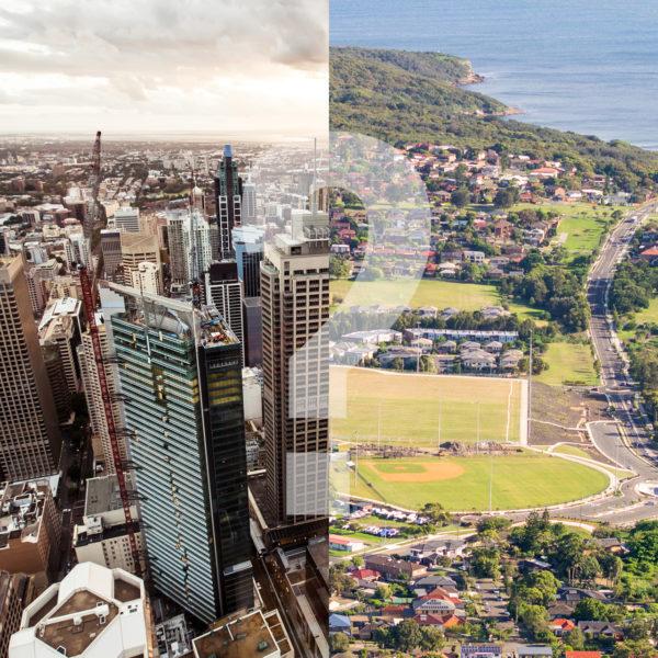 Big city living vs. suburban living